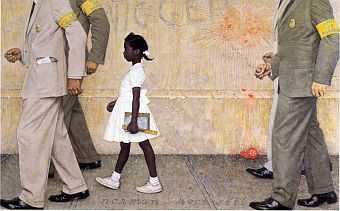Norman Rockwell 1964 young girl