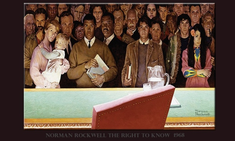 Norman Rockwell Right to Know