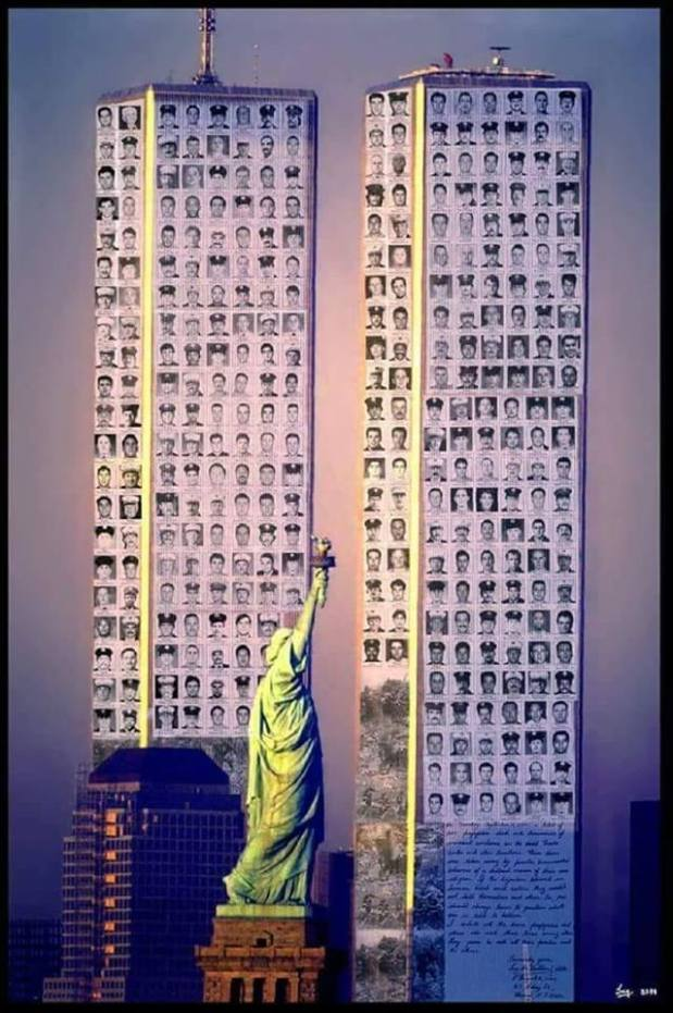 America 9 11 2001 Liberty