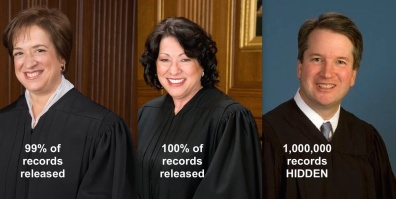 kavanaugh hidden records
