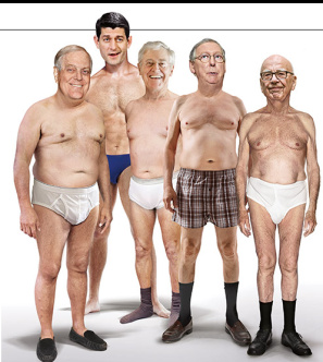 GOP old white men in undies