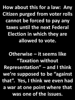 no vote no taxes