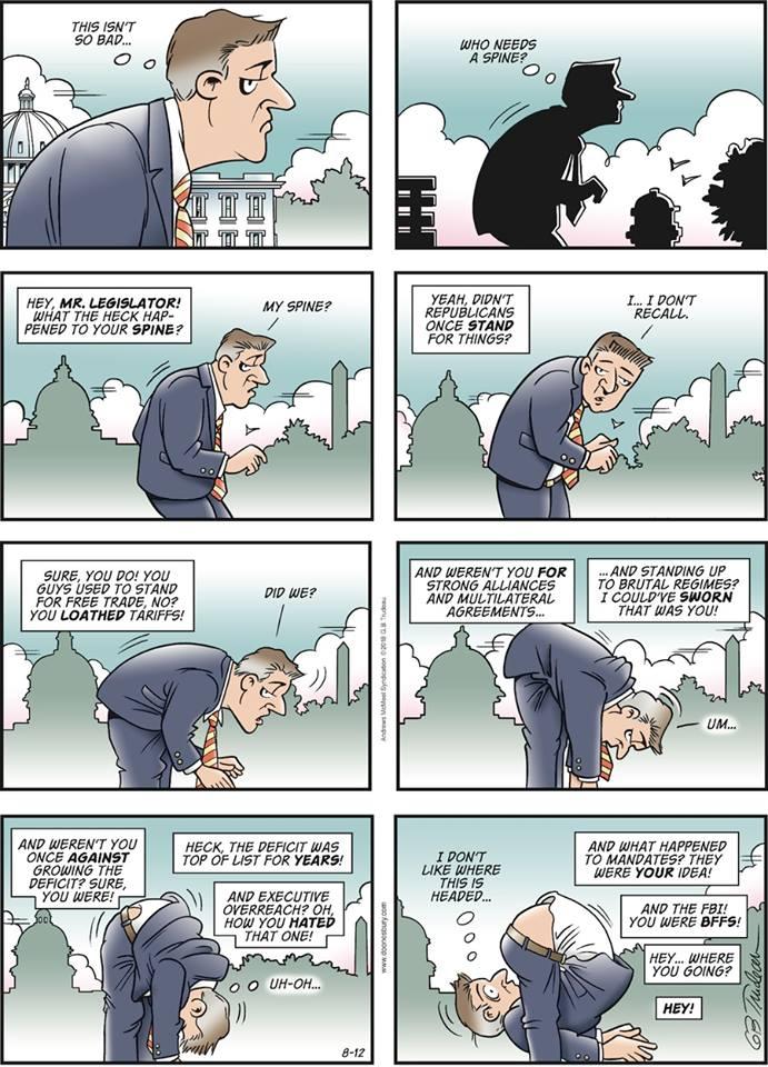 republicans spineless