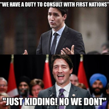 trudeau on native rights