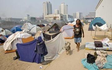 tent cities 2018