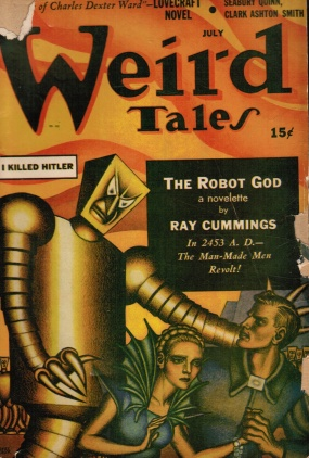weird tales 1941 I Killed Hitler
