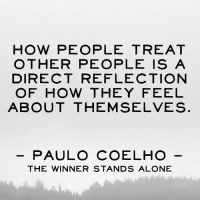 how we treat others Paulo Coelho