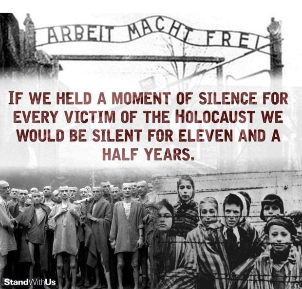 moment of silence holocaust