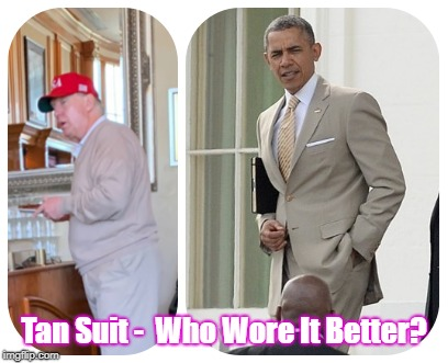 trump obama who wore it better