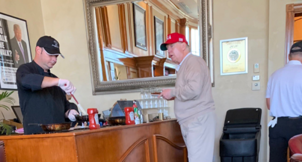 trump omelette bar Feb 2019 post national emergency