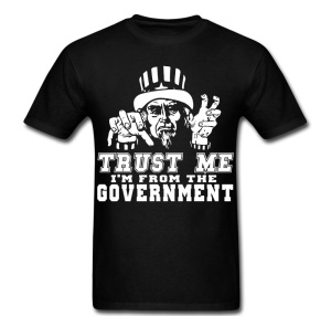 trust me I'm from the govt