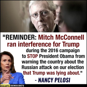 mcConnel stopped obama warning about russia