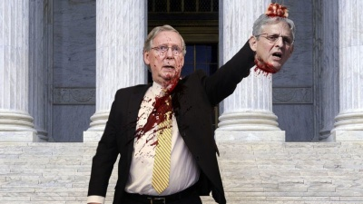 mcconnell with garlands head