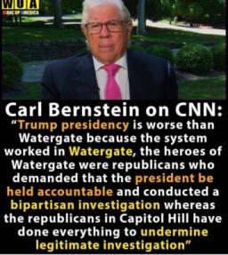 trump pres worse than Watergate