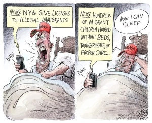 trump supporters cruelty