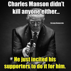 manson didn't kill anyone either