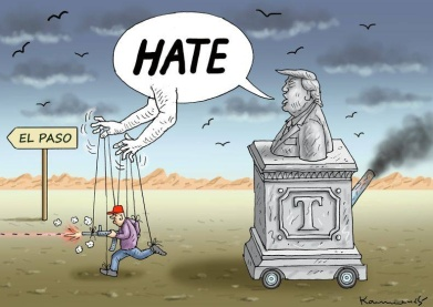 trump el paso hate machine